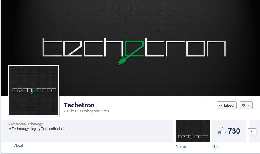 Techetron Facebook Page