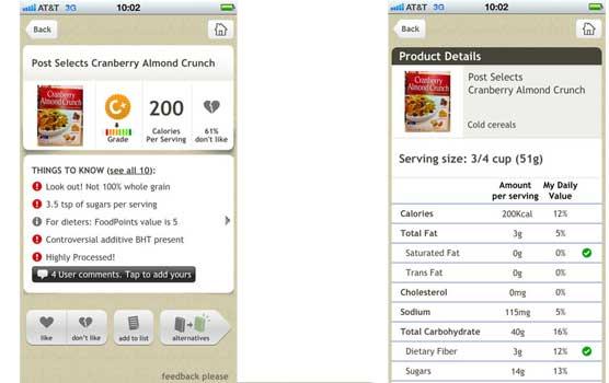 Health Apps Fooducate