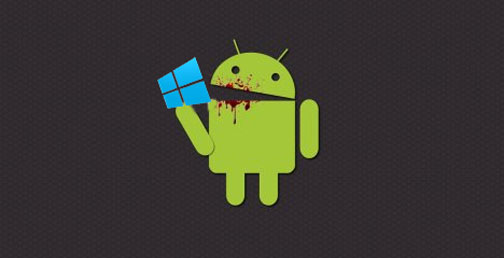 androideatingwindows