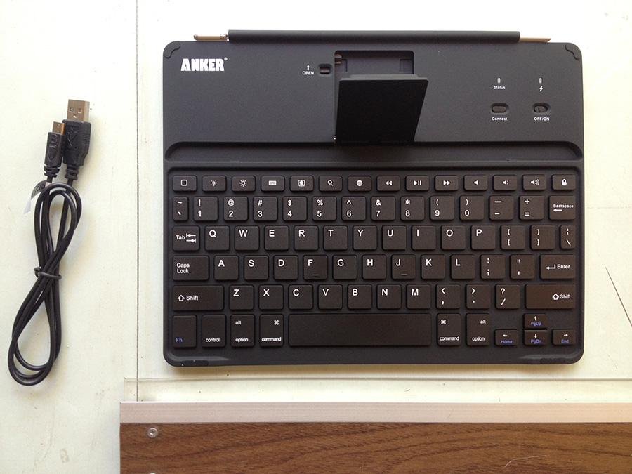 Anker iPad Keyboard case