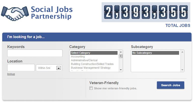 Facebook Social partnership