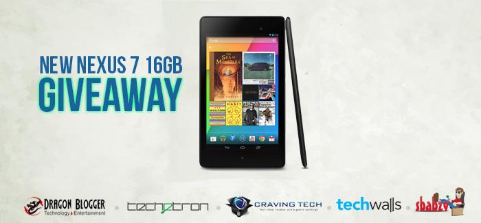 Nexus 7 16GB Giveaway