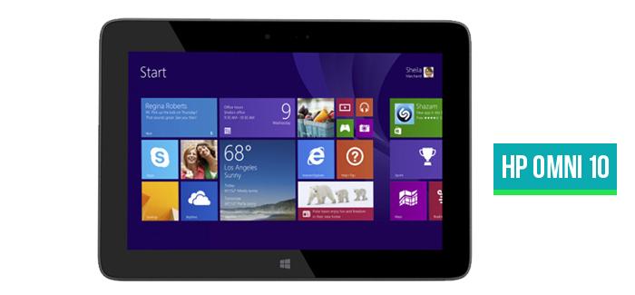 HP Omni 10 Windows 8.1Tablet