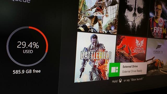Xbox One Hard Disk