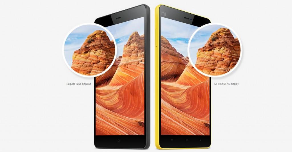 Xiaomi Mi4i Display