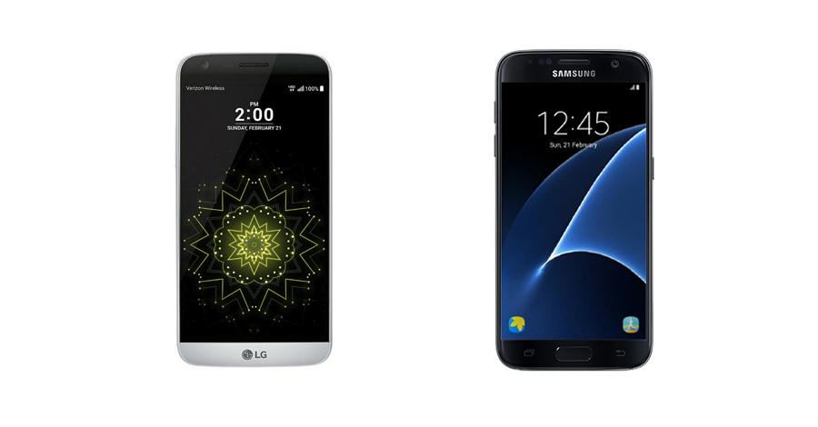 LG G5 and Samsung