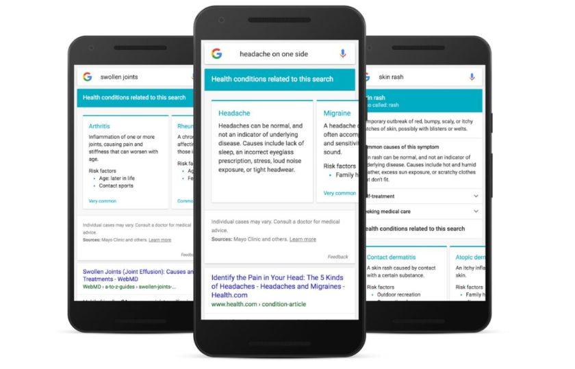 Google Health Symptoms