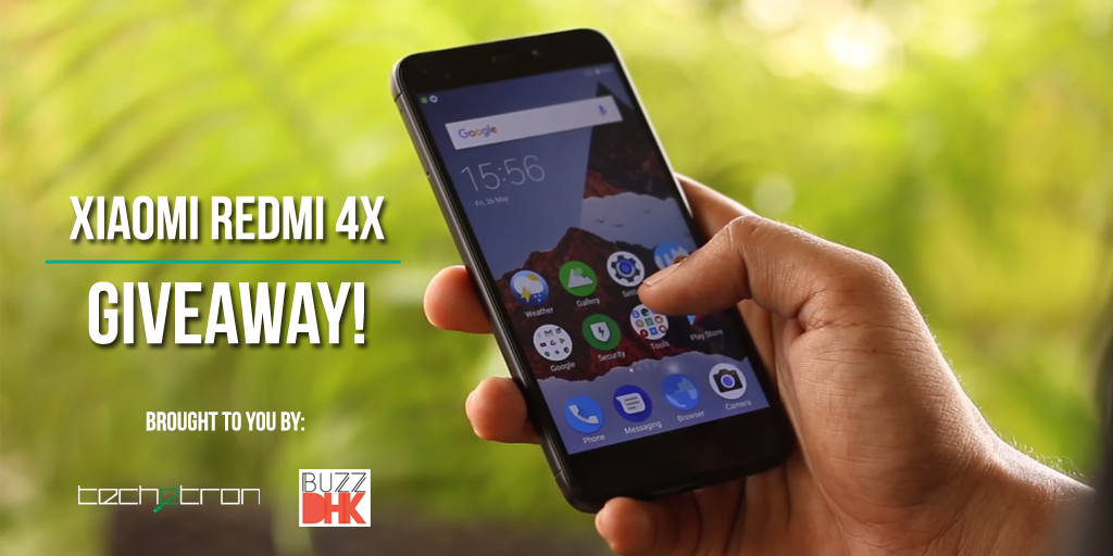 Xiaomi Redmi 4X Giveaway