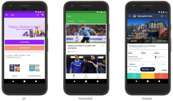 Play Store Instant Apps